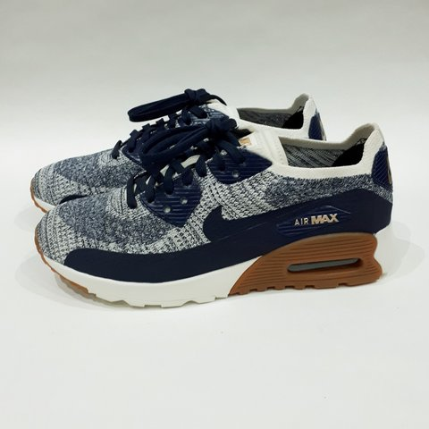 quality design d9405 09f43  trillkingcole. 3 months ago. Huddersfield, GB. College Navy Nike Wmns Air  Max 90 Ultra 2.0 Flyknit