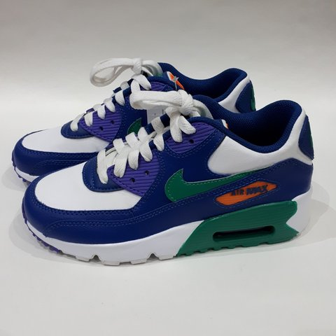 the best attitude 541a1 8e091 @trillkingcole. 3 months ago. Huddersfield, GB. Gym Blue/Neptune Green-Cone Nike  Air Max 90 Leather ...