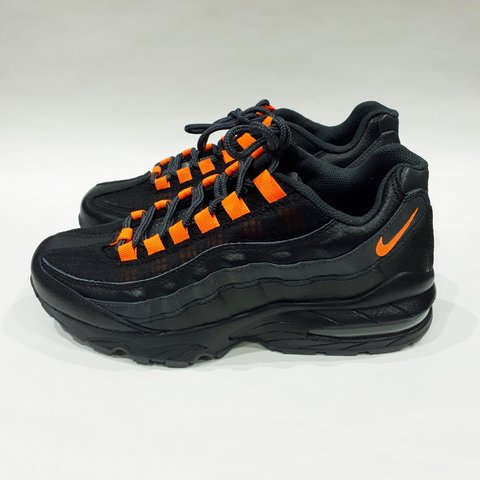 d93c81682a @trillkingcole. 3 months ago. Huddersfield, GB. Black/Orange Nike Air Max 95  SE BG Older Kids