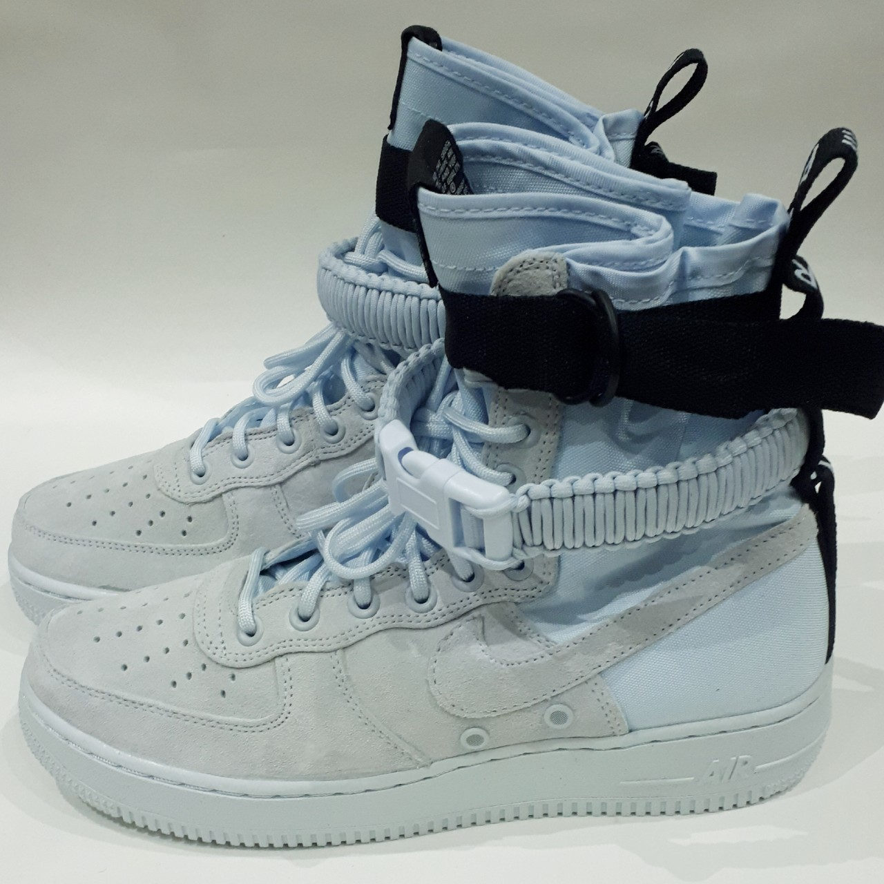 Mens Nike SF Air Force 1 High Blue Tint Size UK 7, Depop