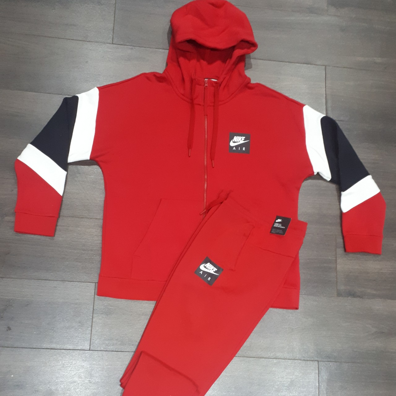 nike tracksuit mens red