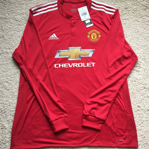 09fbf10c1 @way_off_ki. last year. Pennsylvania, USA. Brand New Adidas  ManchesterUnited Soccer Jersey in Red