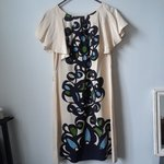 f5ce54e9b95b Chan Luu silk dress; Zip back empire waist silk dress with a - Depop