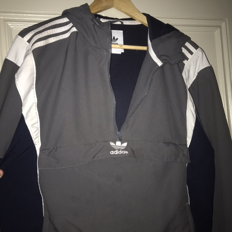 buy best low price top design Adidas Originals Challenger 1/2 Zip Jacket. Free... - Depop