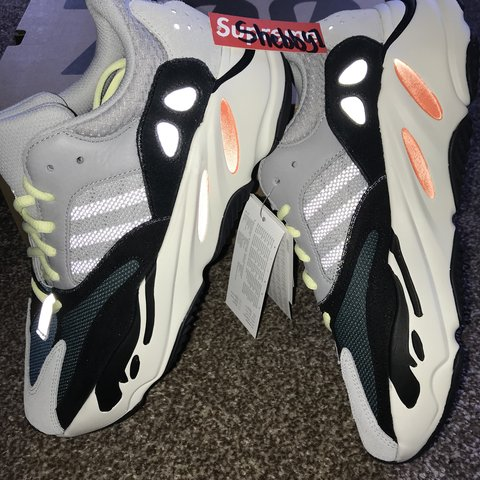5910f12eef889 Adidas Yeezy Boost 700 wave runner Size 8.5UK   9.5USA   out - Depop
