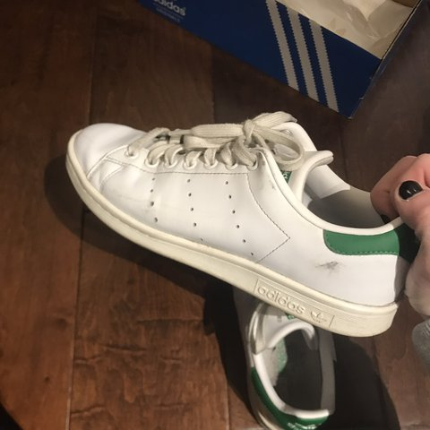 1eff643c61a TRENDY. Well worn adidas Stan Smiths. These were my favorite - Depop