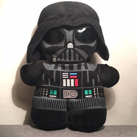Small Darth Vader Plush Backpack Condition Is Good This A Depop