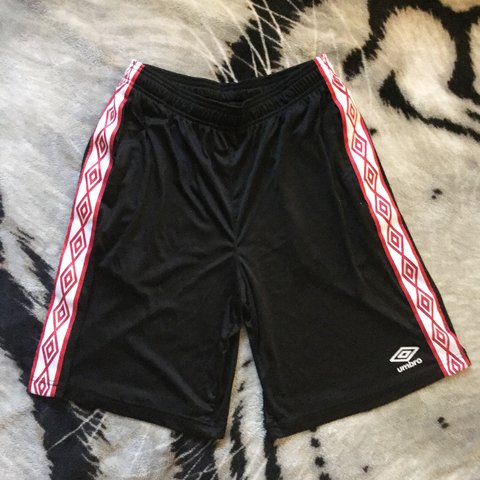 2e50c1672 @cuzinlaylow. 2 months ago. Memphis, United States. BLACK AND RED CLASSIC  UMBRO SOCCER SHORTS 🌐 FREE SHIPPING ...