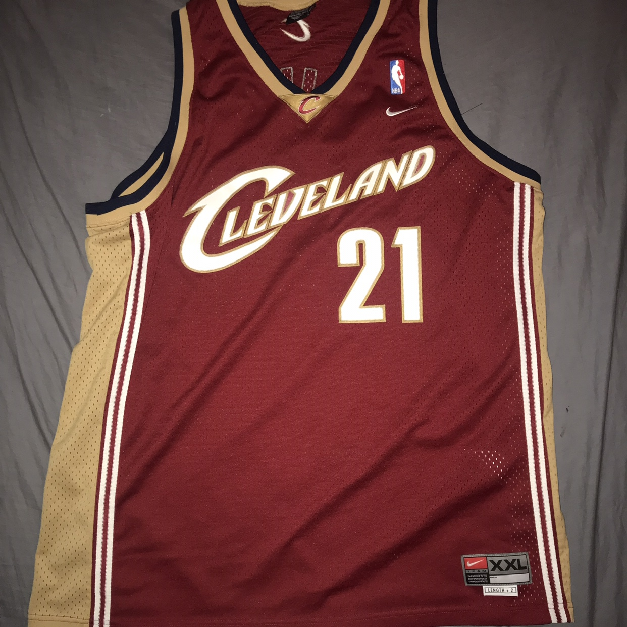 super popular 17036 0ca7c Cleveland Cavaliers Miles Nike Jersey Condition... - Depop
