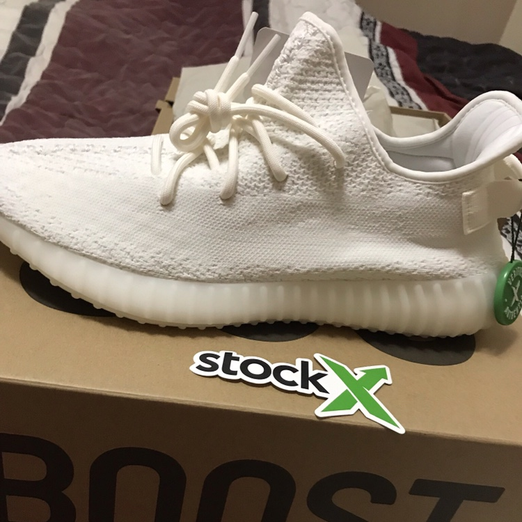 purchase cheap ed6ac 2c88d Deadstock Yeezys 350 V2 Triple White I had purchased ...
