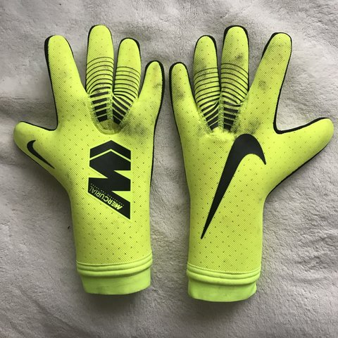 79c8a3d00cd1ac Nike mercurial touch elite gloves size 11 but fits 9 Only - Depop