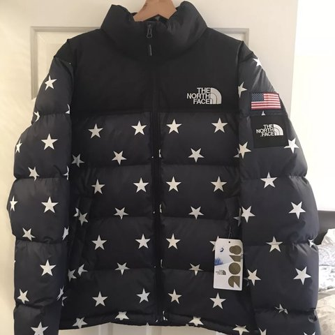 THE NORTH FACE USA International Collection (IC) Nuptse size - Depop 74ff1c726