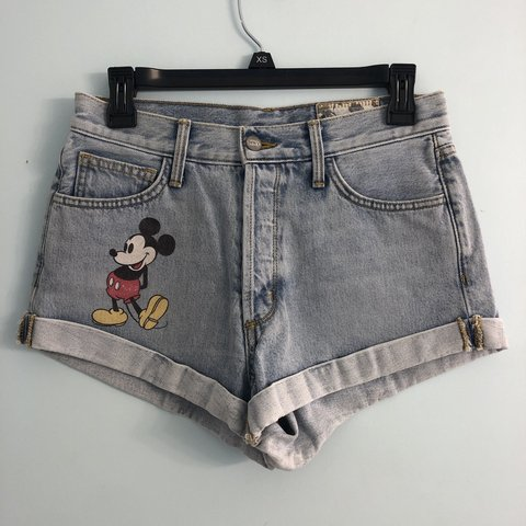 326b3106b6 PRICE DROP! SIWY Los Angeles Mickey Mouse High-Waisted Up - Depop