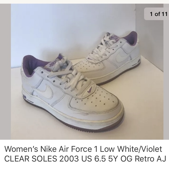 nike air force 1 womens size 6.5