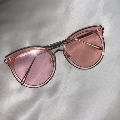 67244f0b8713 Brand New Tilly's Pink Sunglasses. great condition. 100% UV - Depop