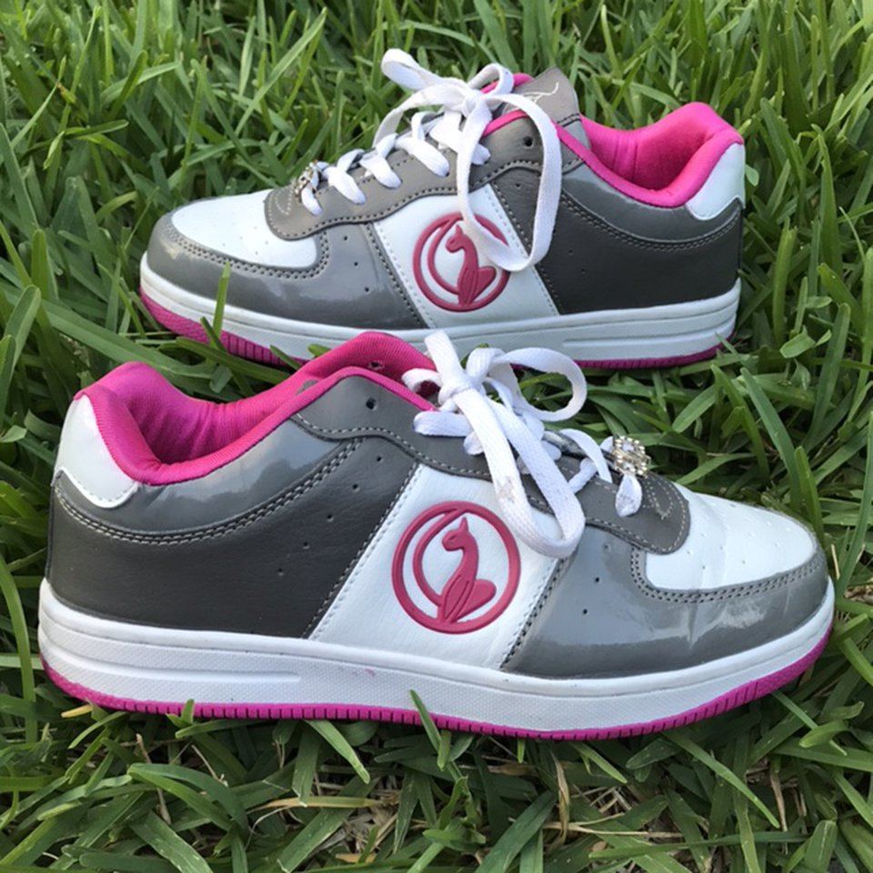Stunning early 2000s Baby Phat sneakers