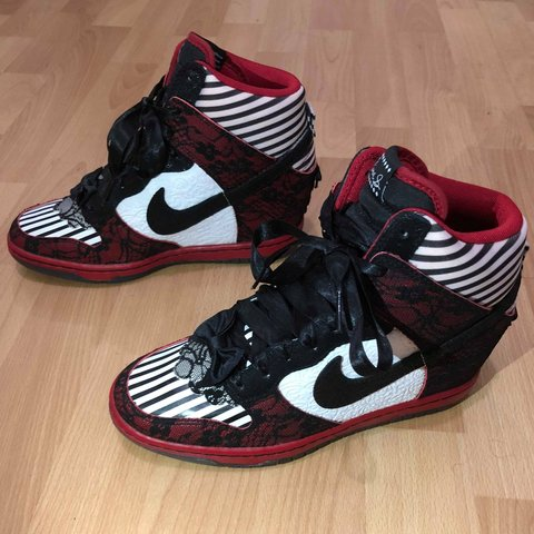 new concept dbf0a 3be60 Nike Dunk Sky Hi wedge- 0