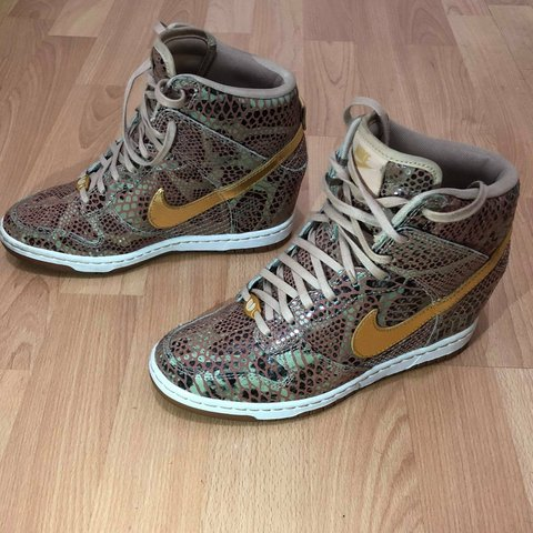 finest selection d2d65 ab85d  elsellsmore. 6 months ago. Staten Island, New York, Richmond County,  United States. Nike Dunk Sky Hi Wedge Year of the Snake QS ...
