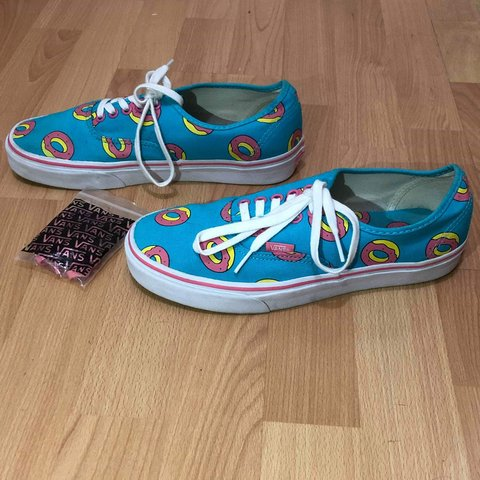 5fd6d83e0092 Vans X Odd Future Golf Wang Scuba Donut Skate Shoes Men s x - Depop