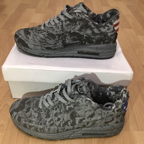 official photos ff9ee 8af81  elsellsmore. 3 months ago. New York, United States. Nike Air Max Lunar 90  Moon Landing ...