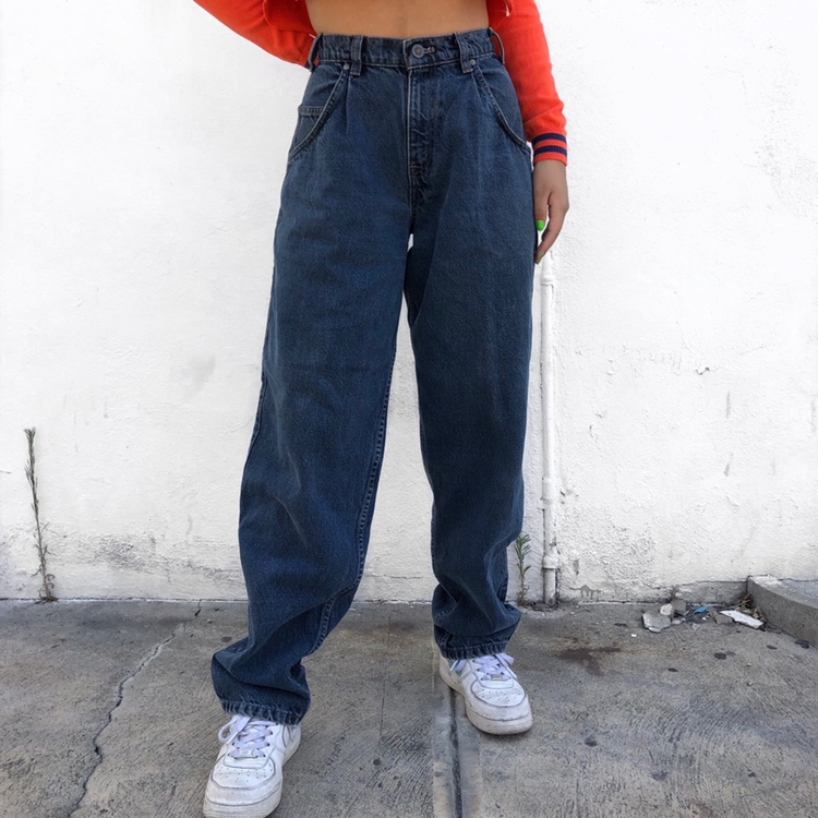 sale usa online fast delivery detailed images vintage 80s / 90s silverTab baggy jeans in a grayish... - Depop