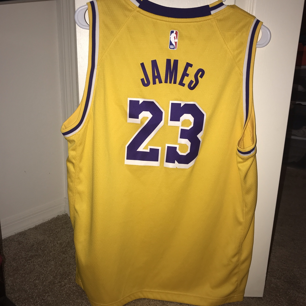 low priced 39ede 6d1d6 100% authentic Lebron James Lakers Jersey🔥 Youth... - Depop