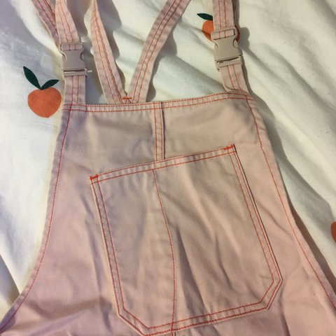 721a4fcc4c PRICE LOWERED  ) super rare peach pink Dickies x Urban no to - Depop