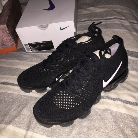 d80f86f6e21 Nike air vapormax flyknit 2! All black! Size uk Brand new - Depop