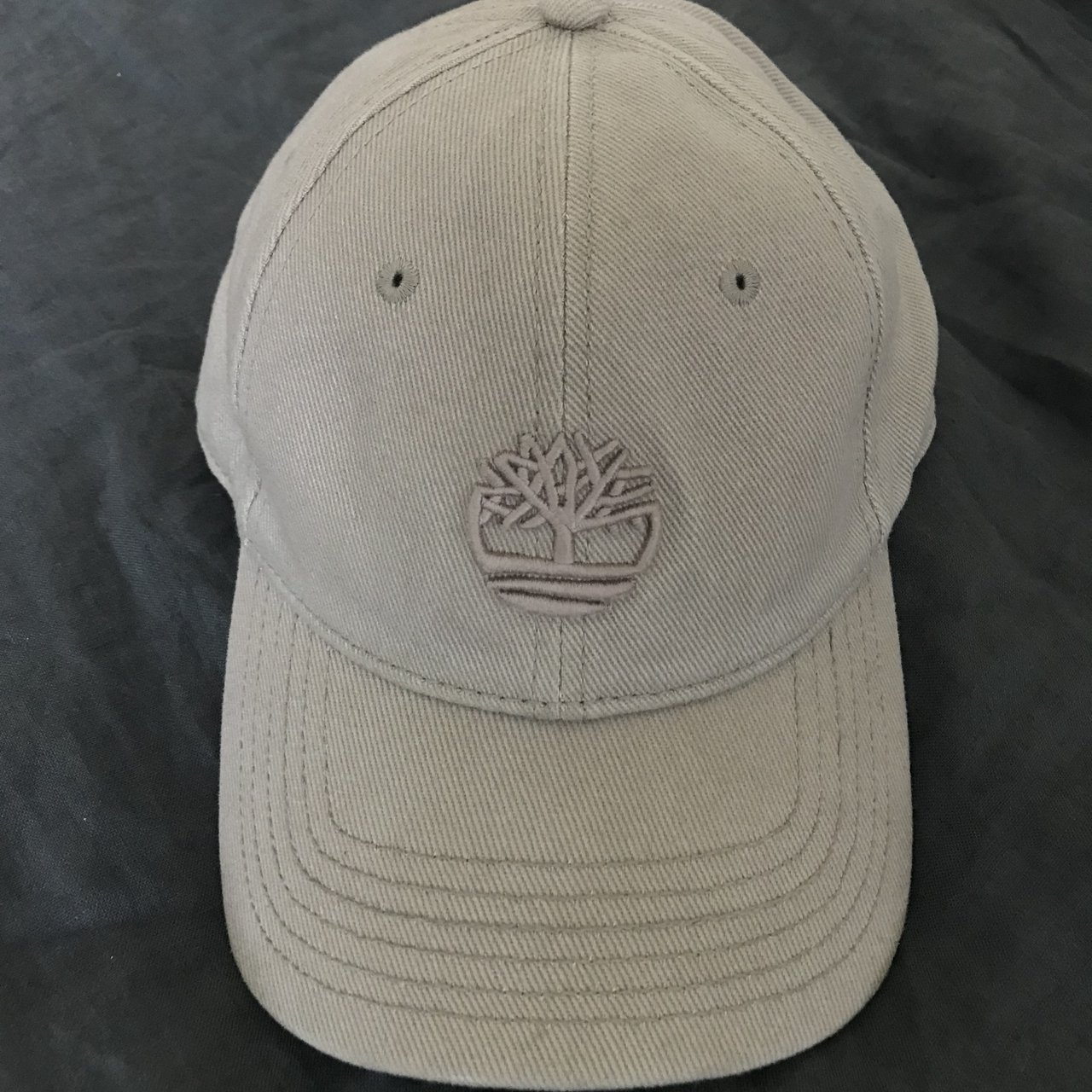 9577e7476c7 Timberland Canvas Hat Embroidered Tree Logo