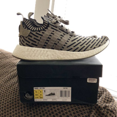 db9a5278a Adidas NMD - Olive Black 100% authentic Primeknit material