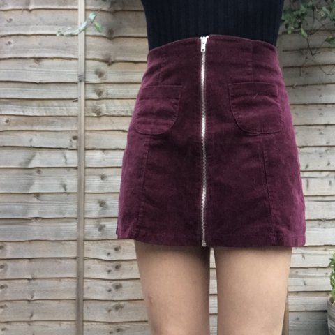 d47a8b79ce @milly_sellers. 7 months ago. Newport, United Kingdom. Cord Brandy Melville  skirt🌿