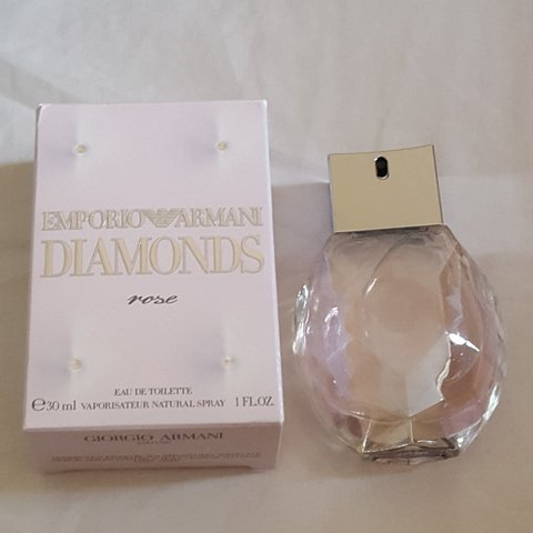 Emporio Armani Diamonds Rose Eau De Toilette Edt Womens 30ml Depop