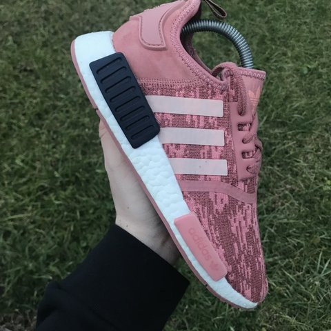 3c2a5b88d2538 Adidas NMD R1 Colorway  Raw Pink Women s size 7 No box Can - Depop