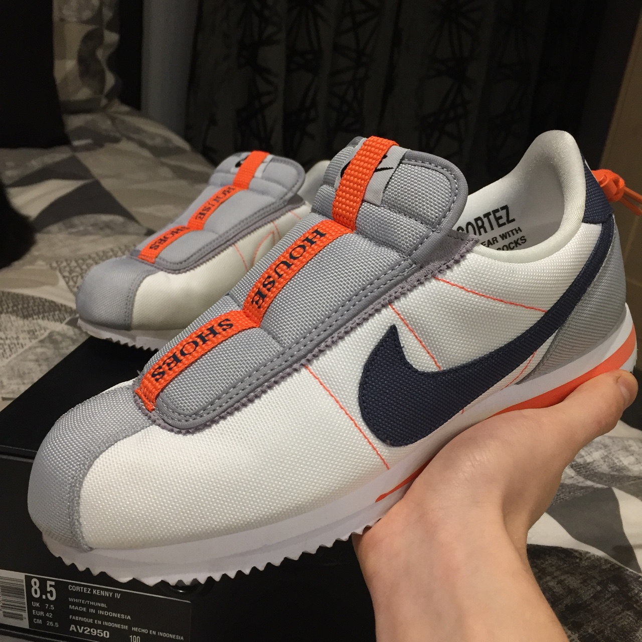 """newest collection d3c64 a9be2 Nike Cortez Kenny IV """"HOUSE SHOES"""" size... - Depop"""