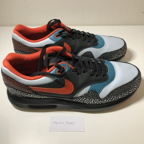 huge discount 3a3ee 5525a  nikhil2803. 10 months ago. Stanmore, United Kingdom. Nike Air Max Lunar 1  Deluxe QS Kabutomushi