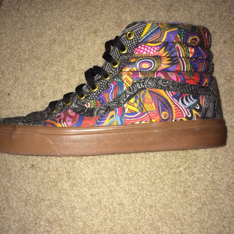 42812e7613 VERY RARE limited edition Vans Zio Ziegler Sk8-Hi Reissue so - Depop