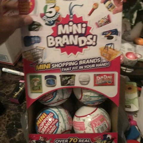 Zuru 5 Surprise Mini Brands 12 Sealed Balls Whole Box Depop