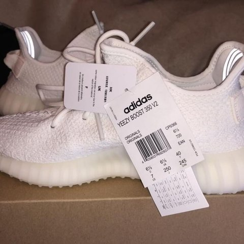 af0620b4b Brand new never worn yeezy boost 350! Size 6.5 (only selling - Depop