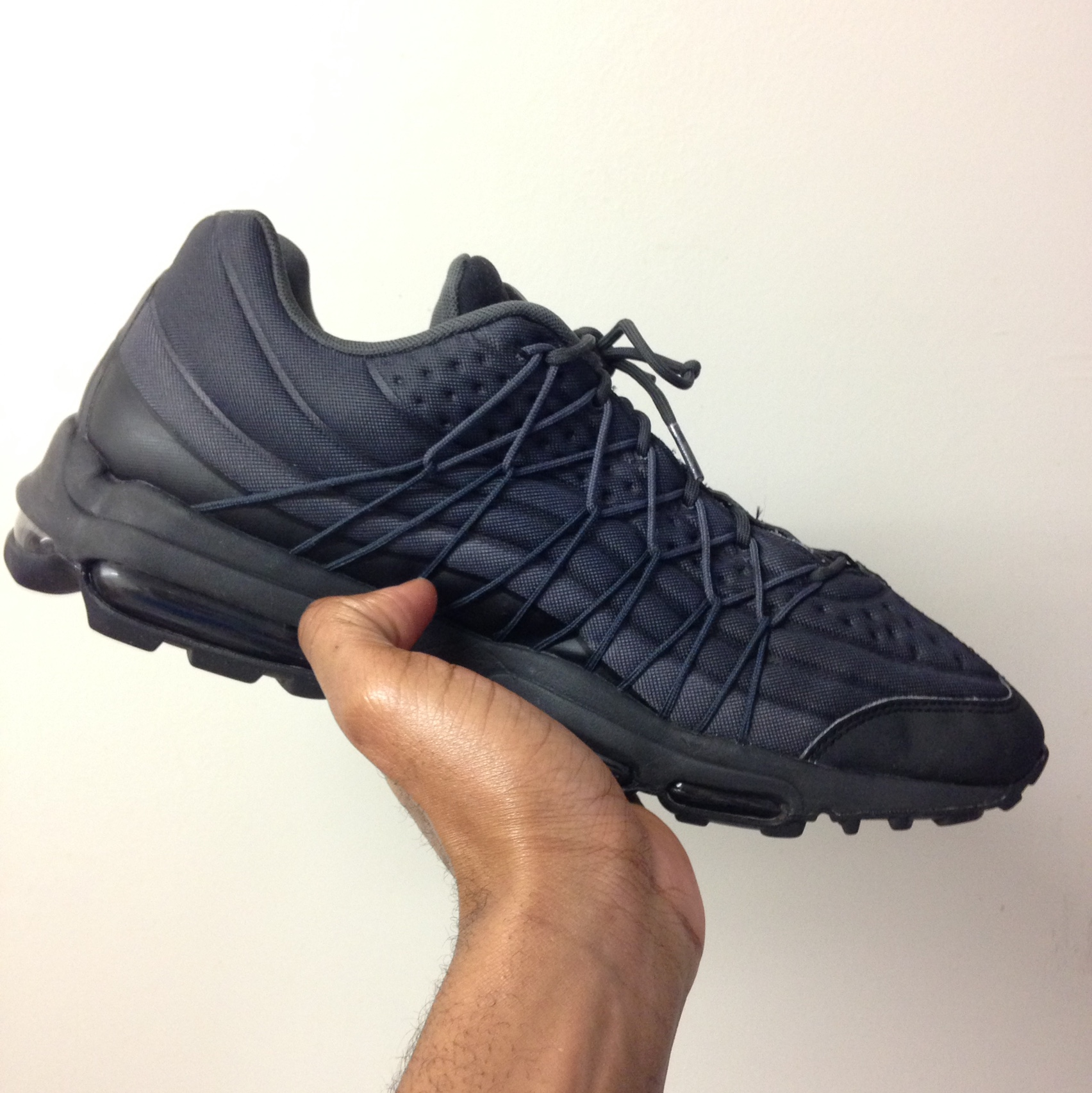 Nike Air Max 95 Ultra SE GreyBlack 910 condition Depop