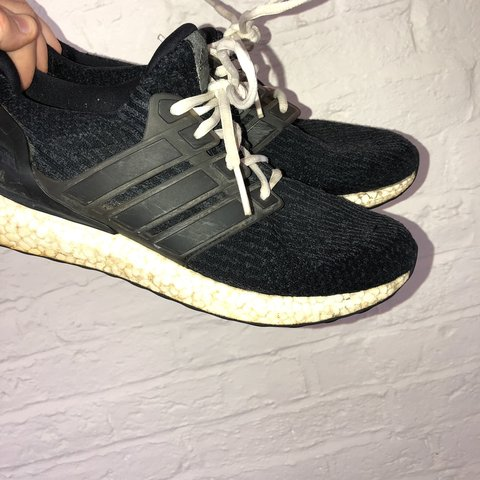 9f69c283e Men s black ultra boost UK 10 7 10 condition Dm me for any - Depop