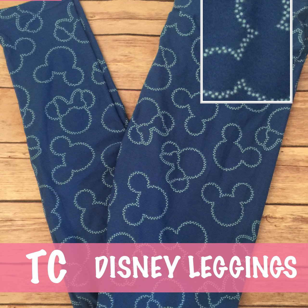 defbc692295a4d LuLaRoe collection for Disney leggings. Super soft and tall - Depop