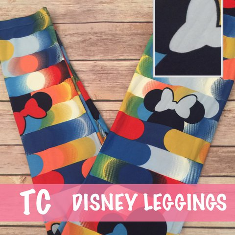 339d307f6ba05f @roewithrinna. last year. Goleta, United States. LuLaRoe collection for  Disney tall and curvy leggings.
