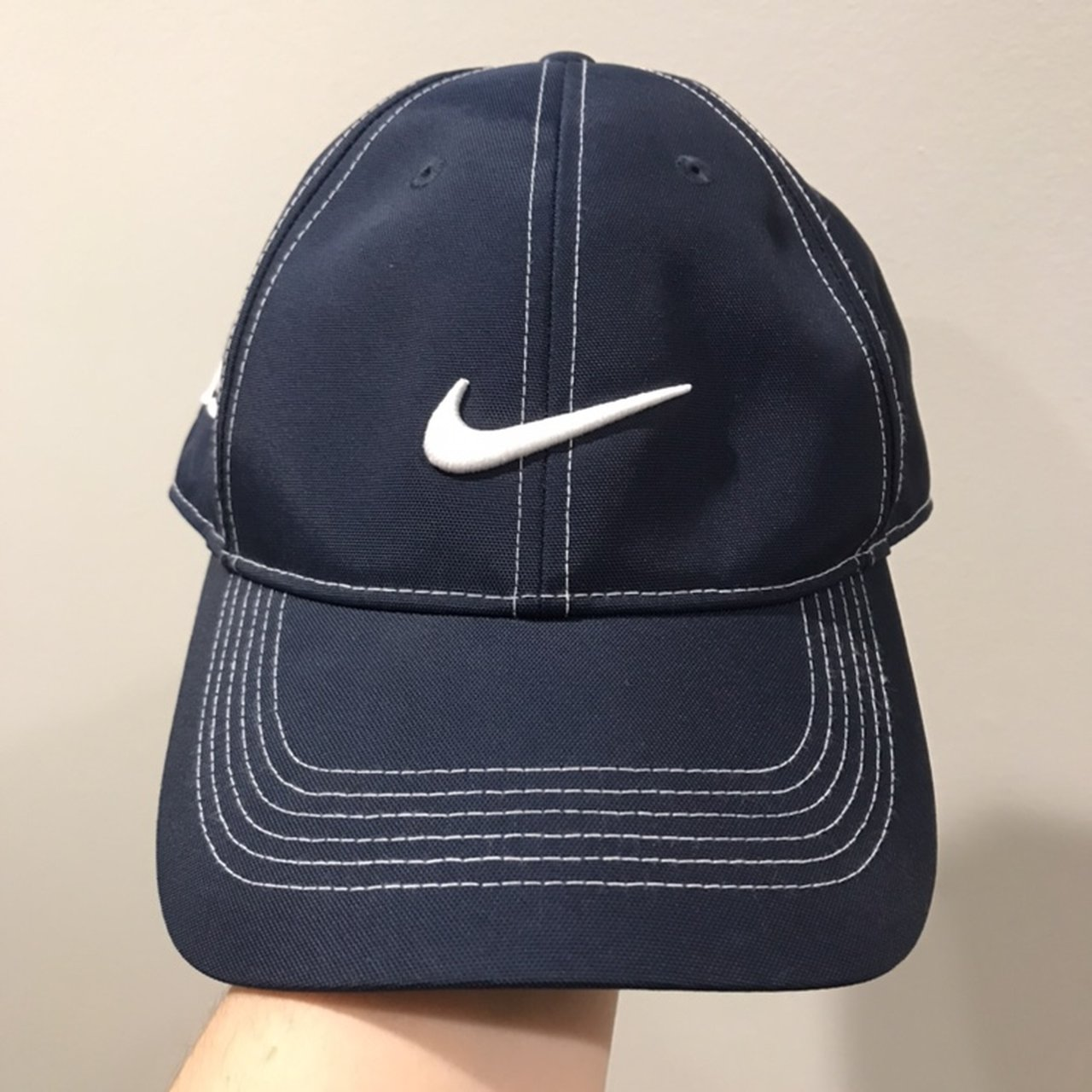 navy blue nike hat tags  brandy melville urban outfitters - Depop 41aef4f35ec