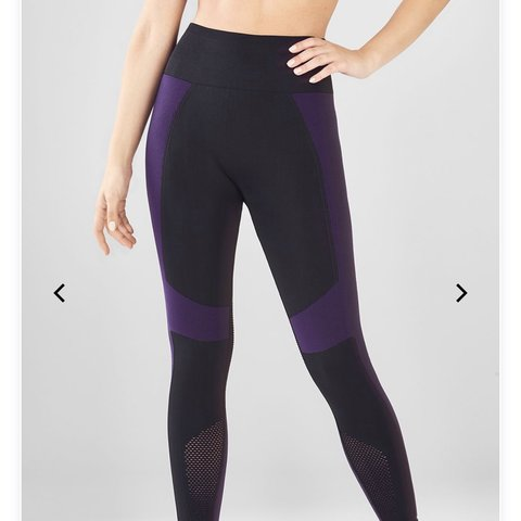 7653d91dbfd82 Fabletics leggings! I took the tag off when I tried them on - Depop