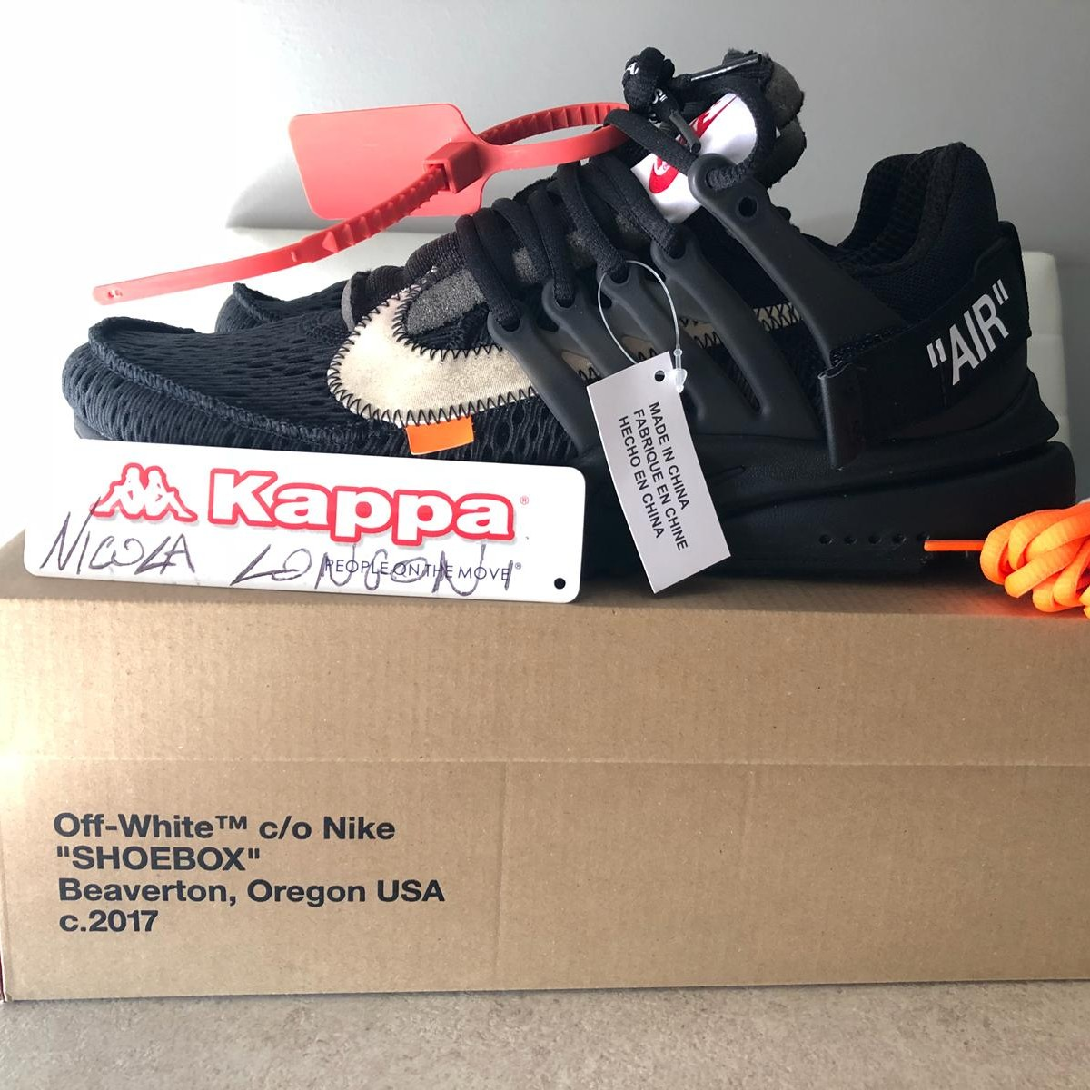 Air presto x off white Cond: DSWT Size: 42.5 Depop