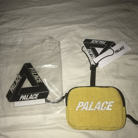 40769747a267 Palace Flip stash wallet Yellow Deadstock Message me for - Depop