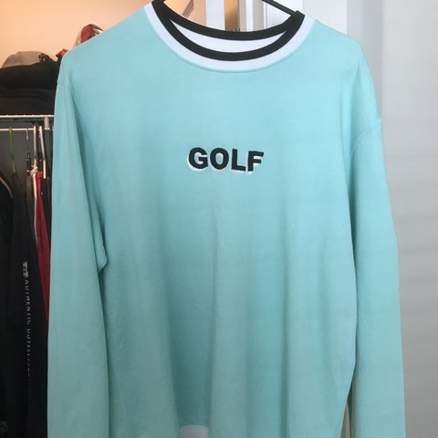 b7d1b5e7bf0c Golfwang F W 15 mint terry crewneck 8 10 worn only a few M - Depop