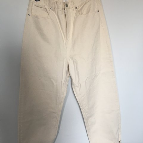 d40631580cb8 Brand new COS jeans in vanilla colour (cream with brown W 29 - Depop