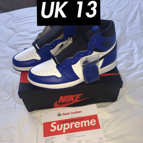 91a8c7b0e4 @luxury4less123. last year. London, United Kingdom. Nike air jordan retro  high top. UK 13. Brand new in box unworn