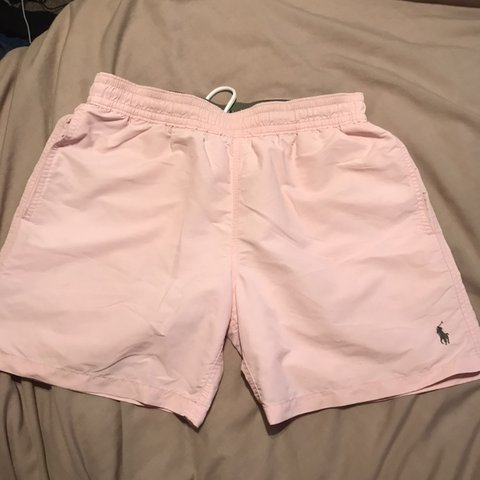 3f895e97ad @rdennis13. 8 months ago. Worthing, United Kingdom. Ralph Lauren pink  swimming shorts - 100 AUTHENTIC - size S ...